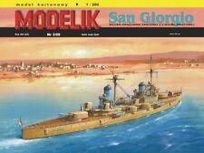 """1/200 scale Italian Cruiser """"SAN GIORGIO"""" -Paper Card Model"""