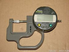 Used Mitutoyo ABSOLUTE 543 272BS Digimatic Indicator Thickness Gauge 12.7 mm