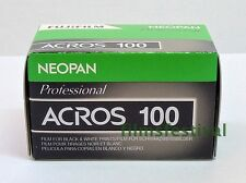 5 rolls FUJI NEOPAN ACROS 100 35mm 36exp Black & White Film 135-36 FREESHIP