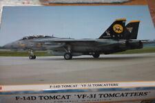 """Hasegawa (09757): Grumman F-14D Tomcat """"VF-31 Tomcatters"""" au 1/48"""