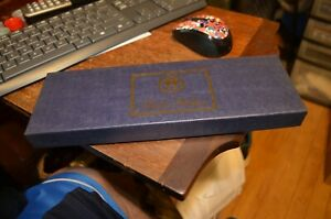Brooks Brothers Mens Suspenders w/Brown Leather Tabs - NEW BOX & FREE SHIP