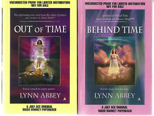 """Lynn Abbey """"Out Of Time""""-Behind Time-Emma Merrigan-Brand New Proof Copy-Signed -"""