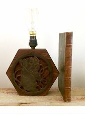 Unique Art Deco Nouveau bonzo el perro Mesa Lámpara de luz de lectura de escritorio bombilla de Edison