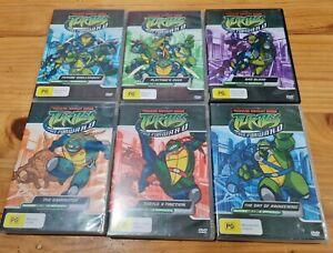 TEENAGE MUTANT NINJA TURTLES TMNT DVD FAST FORWARD VOLUMES 1 2 3 4 5 6 TV ANIME