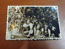 Vecchia foto ragazze donne CASTELMORRONE anni 30 costume tipico tradizionale di