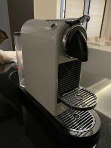 Nespresso Magimix CitiZ Coffee Machine - White & Black - Used