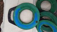 "Greenlee FTS438-125 1/8"" x 125' Steel Fish Tape"