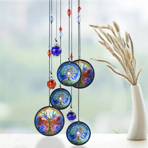 """18"""" Hanging Wind Chimes Tree of Life Metal Wind Chime Outdoor Decor Garden Yard"""