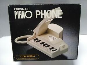 Vintage Columbia Piano Phone & Box Parts or repair only **Read Description