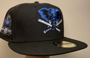 Exclusive Oakland Athletics Club Patch Hat 7 1/4 Stomper Black Blue UV MLB A's