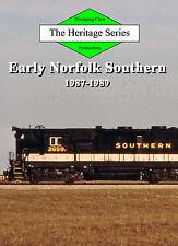 Railroad DVD: Early Norfolk Southern, Volume 2 - 1987-1989