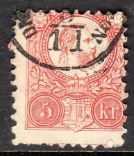 Hungary - 1871 Definitive Franz Josef - Mi. 10a VFU (1)
