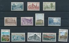 LM91352 Luxembourg monuments landmarks fine lot MNH
