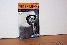 Mr. Moto's Last Warning Digitally Remastered DVD Movie Peter Lorre New Sealed
