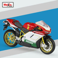 Maisto Miniature 1/18 Scale DUCATI 1098S Motorcycle Diecast Model Toy New In Box