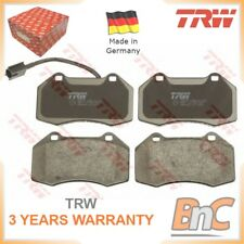 FRONT DISC BRAKE PAD SET ABARTH ALFA ROMEO TRW OEM 71753265 GDB1812 GENUINE