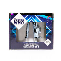 Doctor Who 50th Anniversary First Doctor 16 oz. Glass Set 2 Easter Basket Gift