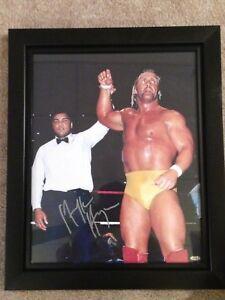 Hulk Hogan Autographed 16X20 Photo WWE WWF WCW TNT NWO Wrestling