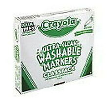 Crayola® Ultra-Clean Washable Color Markers, Fine-Line, Assorted Colors 200ct