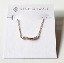 Kendra Scott Jagger 14 Karat Gold Plated With CZ Stones Pendant Necklace