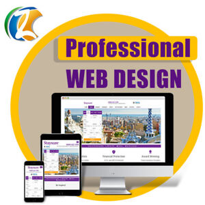 CUSTOM WEBSITE WORDPRESS WEB DESIGN PACKAGE - PROFESSIONAL & MOBILE READY