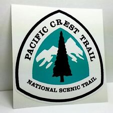 4 inch PACIFIC CREST TRAIL DECAL / PCT Vinyl Sticker, Hiking