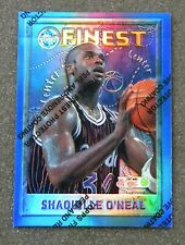 New listing 1995-96 Topps Finest Refractor Shaquille O'Neal #32 Orlando Magic HOF w/Coating