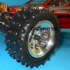 "Kyosho Turbo Optima Tire Vintage 1.9"" Spike Low Profile Duratrax 5113 Vintage RC"