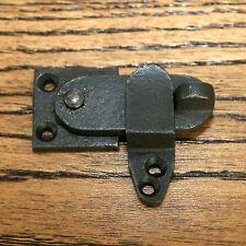 Cupboard latch 2 Inch Privacy latch door latch door catch black Cast iron