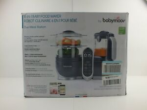 Duo Meal Station-Baby Moov- Food Maker   6 in 1 Food Processor with Steam Cooker