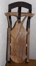 Holzschlitten Eisen Winter Retro Schlitten Deko Weihnachten 12*24*52cm Nostalgie