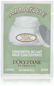 Lot of 5 L'OCCITANE Amande Milk Concentrate Samples 0.2 oz / 6 ml each Shea