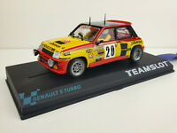 "Slot car Scalextric Team Slot Ref. 11802 Renault 5 Turbo 320 ""Calberson"""