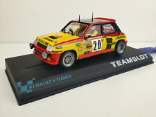 "Slot car Scalextric Team Slot Ref. 11802 Renault 5 Turbo 320 ""Calberson"""