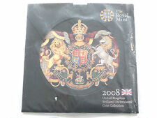 2008 Royal Mint Annual Brilliant Uncirculated 9 Coin Set Still Mint Sealed
