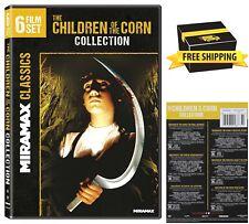 Children of The Corn 6-Film Collection Horror Movie Stephen King Thriller DVD