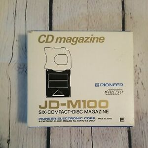 Pioneer Electronic JD-M100 6 Disc Compact Magazine Audio CD Changer Music