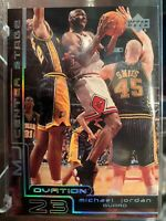 1999-00 Upper Deck Ovation MJ Center Stage CS15 RARE