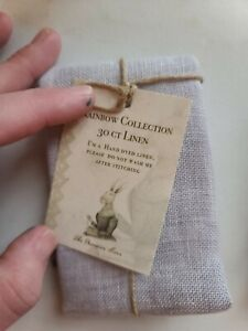 Primitive Hare Rainbow Collection 30 Ct Linen