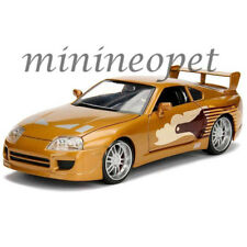 JADA 99540 THE FAST AND FURIOUS SLAP JACK'S TOYOTA SUPRA 1/24 DIECAST CAR GOLD