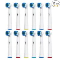 12 Pcs Precision Electric Toothbrush Replacement Brush Heads For Oral B Braun US