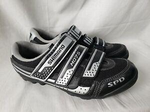 Shimano SPD SH-M075 Mountain Cycling Shoes Size EU 40  Mens Black & Grey