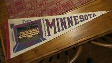 "1965 MINNESOTA TWINS AMERICAN LEAGUE CHAMPS WORLD SERIES PENNANT Team Photo, 29"""