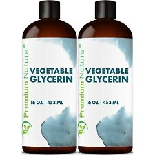 Natural Vegetable Glycerin For Skin Care - 32 oz Organic Vegetable Glycerin