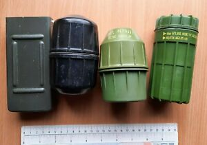 JNA YUGOSLAVIA ARMY LOT BOMB BOX military CASE hermetic chest M75 HAND GRENADE