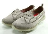 Skechers NWOB Microburst Topnotch $80 Women's Comfort Shoes Size 9.5 Taupe Tan