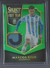 Marcos Rojo 2015 Panini Select Soccer Green Refractor Prizm Jersey Patch #5/5 SP