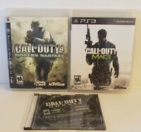 A Lot Of 3 Call of Duty Modern Warfare 3 , 4 And Ghost PS3 Playstation cib