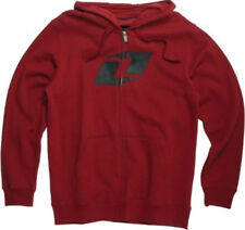One Industries Expo Zipped Hoodie - Cardinal Red -Boys Size Large - Motocross MX