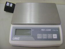 INTELLIGENT UWE MII-1200 DIGITAL LAB SCALE 1200 x 0.2g .2g
